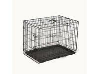 New and almost unused dog cage - medium sized dog (3' x 2')