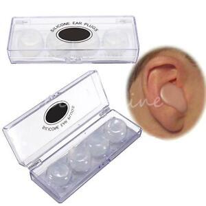 bouchon d 39 oreille silicone tanche anti bruit pr nageur. Black Bedroom Furniture Sets. Home Design Ideas