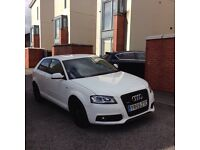Damaged repaired 2009 Audi A3 2.0 tdi s line black edition not s3 not golf seat passat