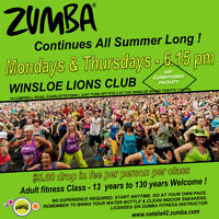 ZUMBA fitness Continues All SUMMER Long !