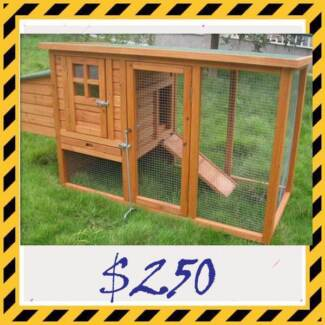 Brand new Wooden Chicken Coop or Extra Large Rabbit Hutch Osborne Port Adelaide Area Preview