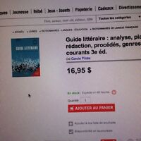 Guide litteraire neuf