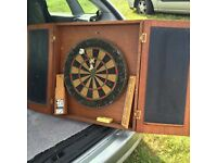 Man cave ,pro dart board and games room items only £25 !!