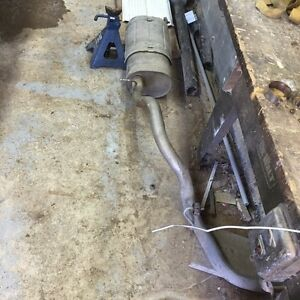 05 gmc 1500 muffler and tail pipe