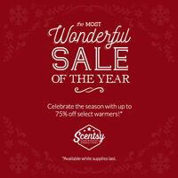 BIG SCENTSY SALE!!! up to 75% off