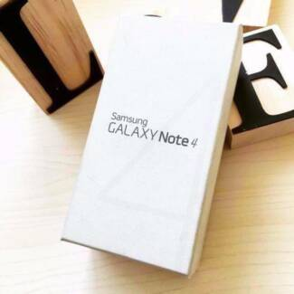 Brand new Samsung Galaxy Note 4 black 32G UNLOCKED in box Calamvale Brisbane South West Preview