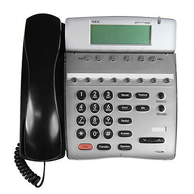 Nec Dterm 80 Telephone Dth-8d-2bktel 780571 Good Display Refurb Year Warranty