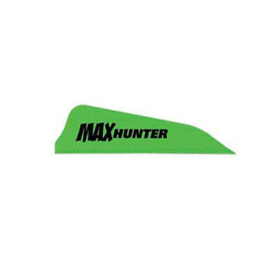 AAE Max Hunter Vanes Bright Green 100 Pack