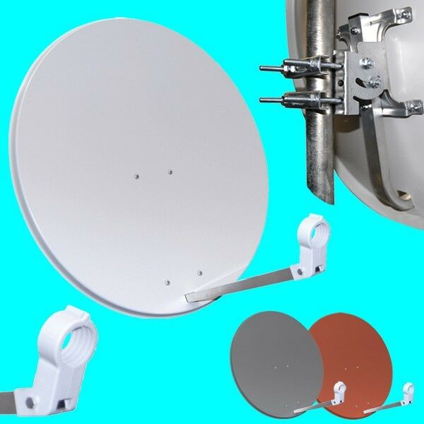 HD Sat Antenne 80cm OPTICUM Satellitenschüssel Digital Spiegel HDTV + 3d 4K SKY