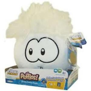 Club Penguin Jumbo Puffle Plush White, New
