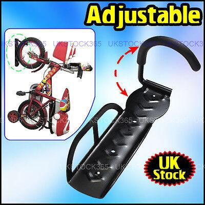 4X STEEL BIKE BICYCLE STORAGE WALL MOUNTED MOUNT HOOK RACK HOLDER HANGER STAND N