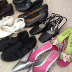 Ladies Shoes and Size Small Clothes