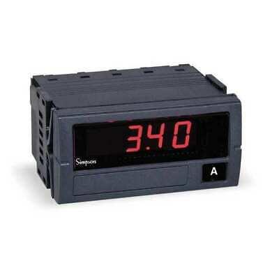 Simpson Electric F35-1-11-0-l Digital Panel Meterdc Current