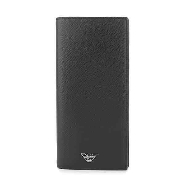 Emporio Armani Men Black Long Wallet Y4R256-YAQ2E-8107 Y4R256-YAQ2E-8107