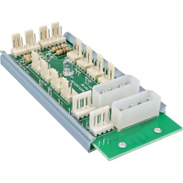 * InLine® * Multi Port Panel * 12 Anschlüsse für LED + Lüfter * Lüftersteuerung