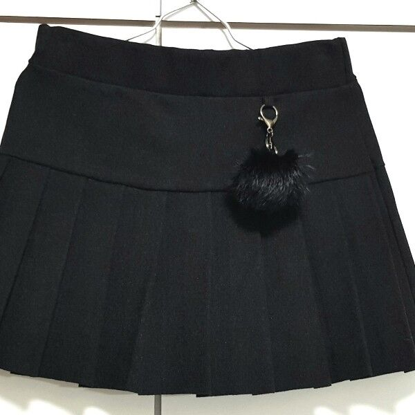 Mini skirt with shorts