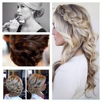 Mobile Hairstylist specializing in formal hair