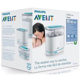 Brand New Unused Philips Avent electric steriliser