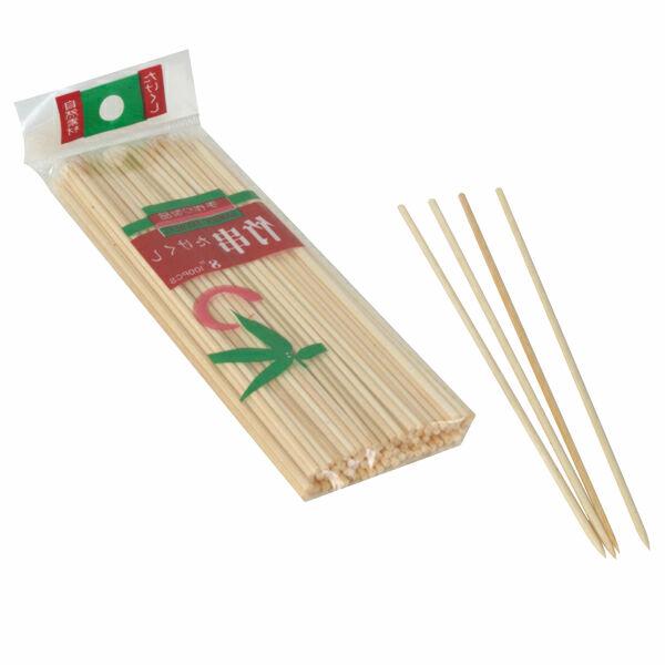 "Thunder Group (BAST008) - 8"" Bamboo Skewers (Bag of 100)"