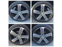 Genuine VW Golf R MK7 Alloys Wheels And Tyres