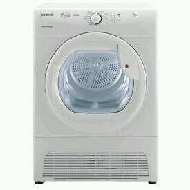 HOOVER VTC671W VISION TECH 7kg CONDENSER SENSOR TUMBLE DRYER - WHITE WITH 12 MONTHS WARRANTY