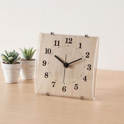 "From Japan Nitori 2 Way Clock Arco Natural ""Code: 8171288"" / Tracking SAL"
