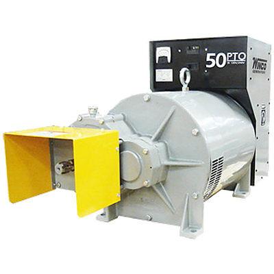 Winco 50ptoc-3 - 50 Kw Tractor-driven Pto Generator 540 Rpm