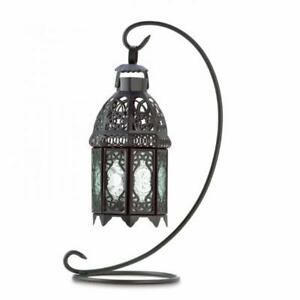 Moroccan lantern / Candle holder with stand