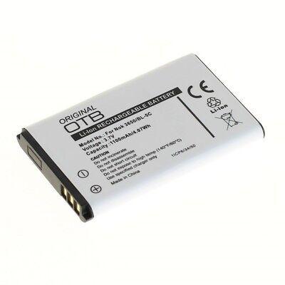 06 Ersatz-akku (Ersatzakku Akku mit 1100mAh für Nokia C2-02 / C2-03 / C2-06)