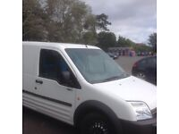 Excellent Ford transit connect van white