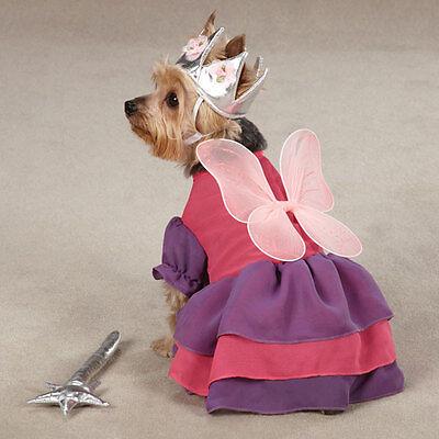 Zack & Zoey FAIRY PRINCESS Pet Dog Halloween Costume XS S M L  (Fairy Halloween Costumes For Dogs)