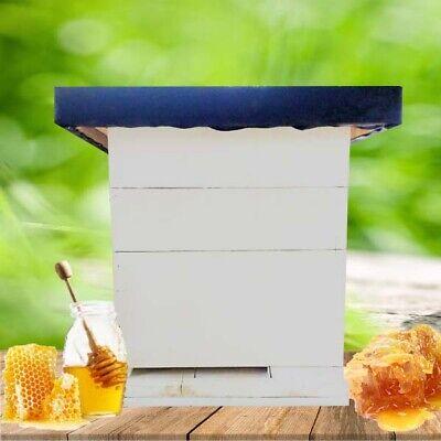 Langstroth Bee Hive 24 Frame 3 Box Beekeeping Kit Honey Bee Hive Rubber Roof