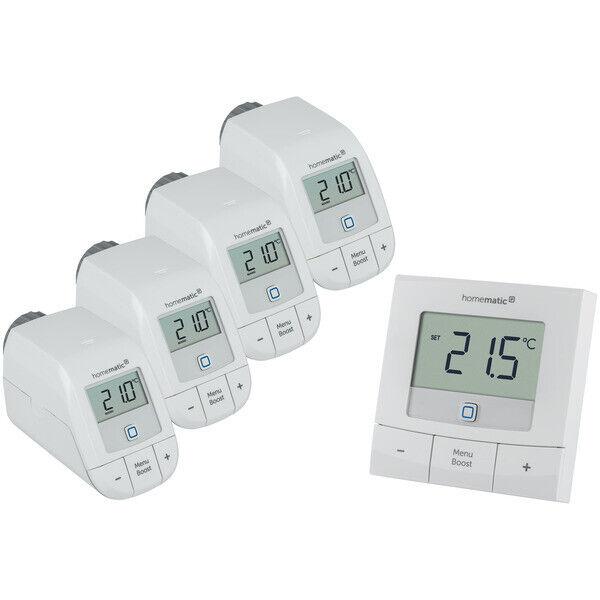 Homematic IP Funk Heizungsregler Thermostat Heizung Regler Heizkörperthermostat