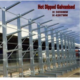 NEW HEAVY DUTY CANTILEVER RACKING PALLET RACK WAREHOUSE STORAGE