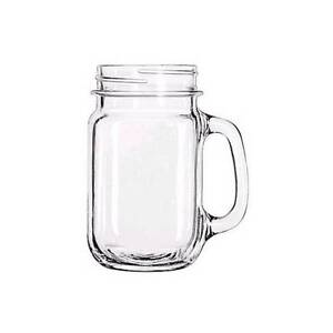 12 x GLASS MASON JAR CUPS Mascot Rockdale Area Preview