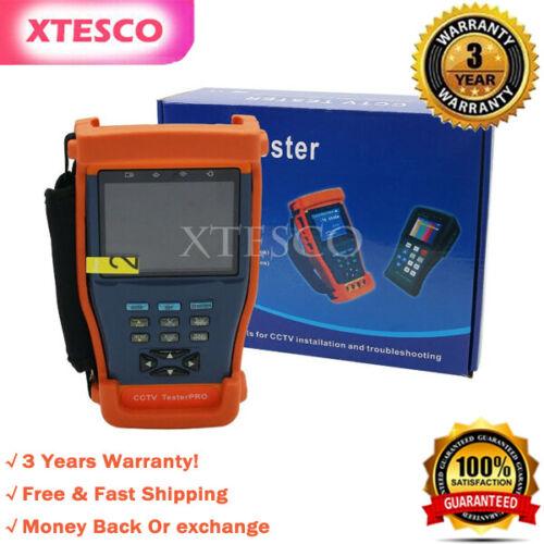 "CCTV Tester Pro 893 3.5"" LCD Tester Monitor Camera Video PTZ RS485 UTP Tester"