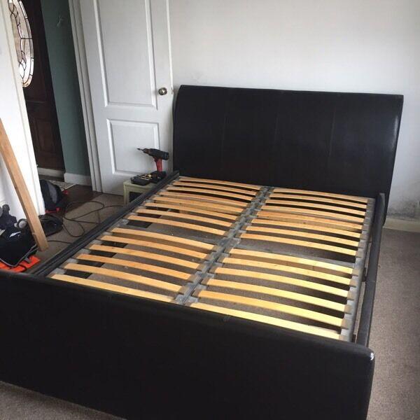 King size bedframe (not mattress)
