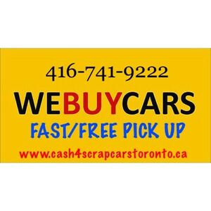 WE BUY JUNK OLD CARS CALL 4167419222 $TOP PRICES PAID ⭐️⭐️