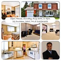 Open house DDO Sunday August 30th, 2-4pm