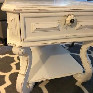 Antique Solid Wood Annie Sloan Refinished Table!