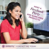 Want Free Jamberry products?