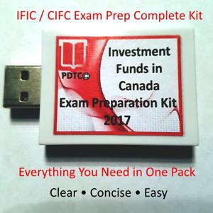 CSI IFIC / IFSE Exam Study Materials Prep Kit - Investment Funds