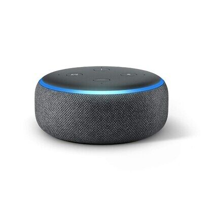 Echo Dot 3rd Edition - Brand new sealed - Charcoal