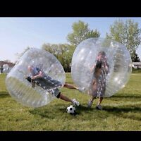 Bubble Soccer is an Awesome Group Activity!