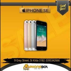 Excellent condition iPhone SE 64gb Unlocked @ Phonebot St Kilda Port Phillip Preview