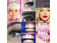 Teeth whitening , Volume lashes Russian mink 3D-6D 6yrs experience hair extension Brazilian keratin