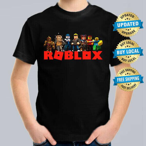 Computer Games - ROBLOX GANG Kids T-Shirt, Children Computer Game Tee Size 2-16