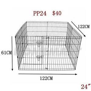 "24"" 8 Panel Pet Playpen Dog Cat Puppy Rabbit Fencing Exercise Bar Derrimut Brimbank Area Preview"