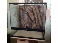 Exo Terra Terrarium 60x60x45 (missing mesh lid)