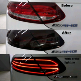 Front / rear lights tints